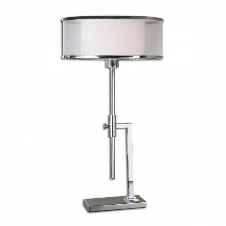 Duarte Nickel-Plated Table Lamp