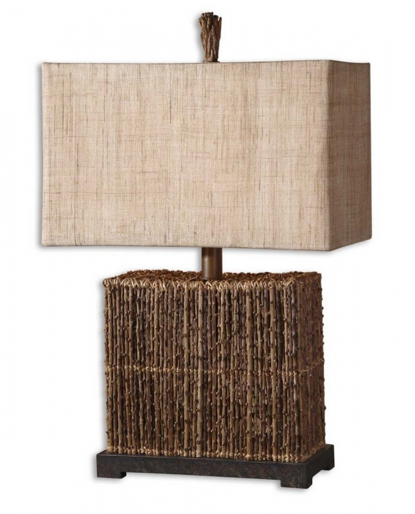 Barbuda Palm Braches Table Lamp