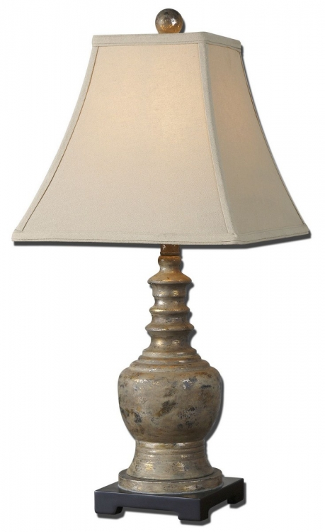 Valtellina Taupe Gray Buffet Lamp