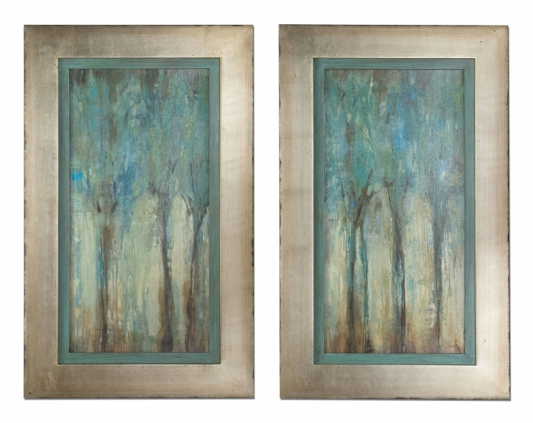 Whispering Wind Framed Art - Set of 2