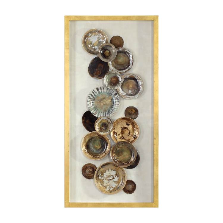 Myla Antique Plate Shadow Box