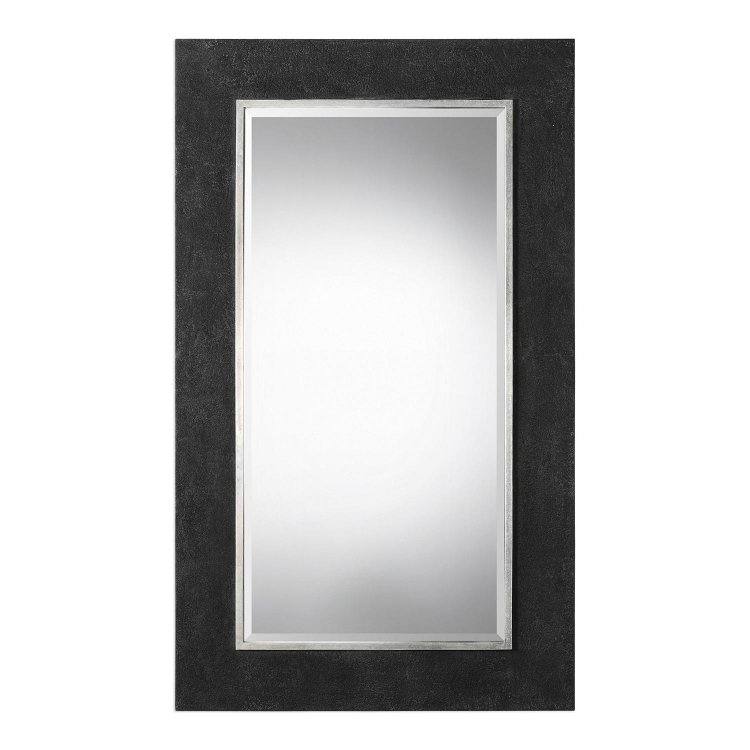 Ferran Textured Mirror - Black