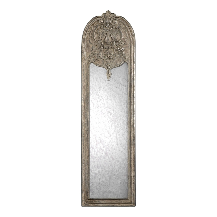 Marecchia Antiqued Mirror - Silver