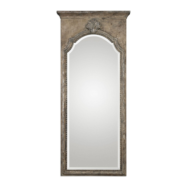 Nevola Antiqued Mirror - Silver