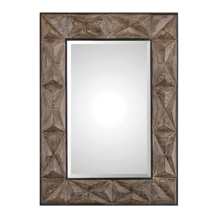 Wilder Aged Wood Mirror