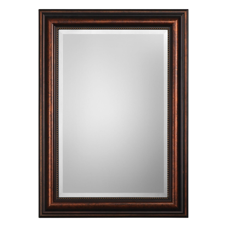Stuart Rubbed Mirror - Bronze