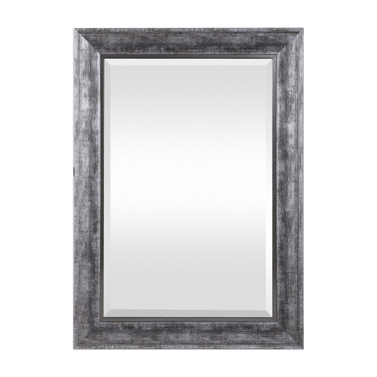 Affton Mirror - Burnished Silver