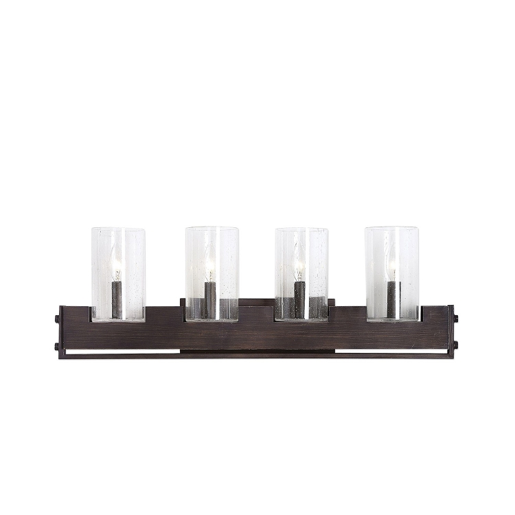 Pinecroft Industrial 4-Light Vanity Candle Socket