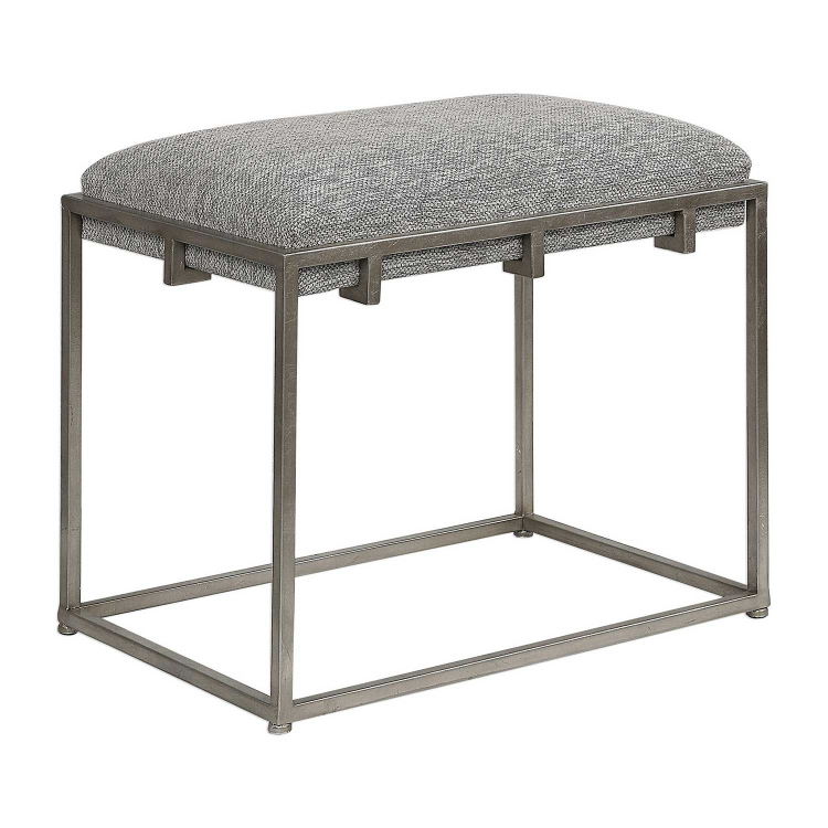 Edie Small Bench - Silver