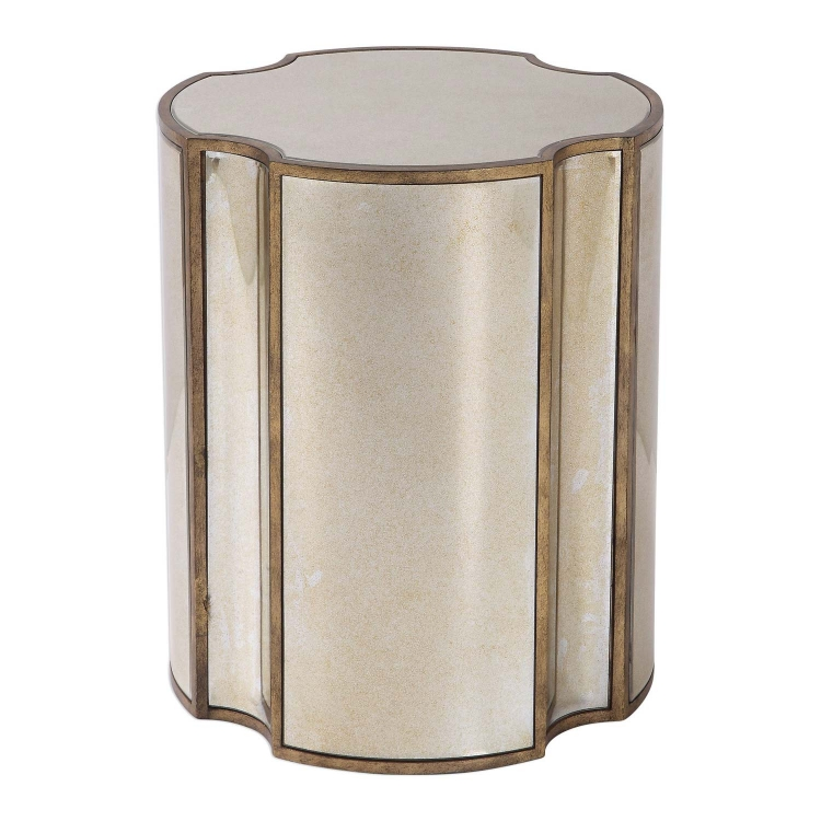 Harlow Mirrored Accent Table