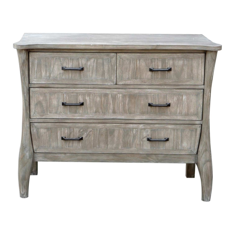 Mosiah Accent Chest - Driftwood