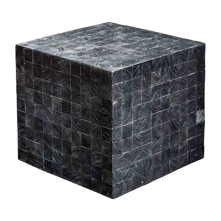 Ayasha Accent Table - Charcoal