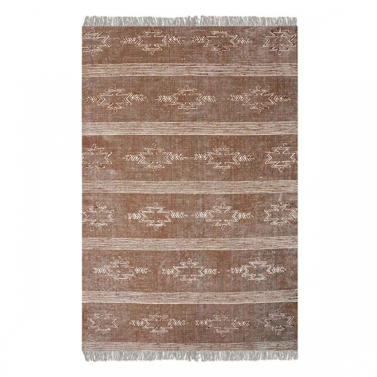 Gamba 8 x 10 Rug - Brown