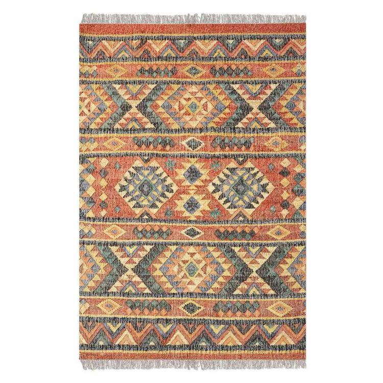 Chaparral 5 x 8 Rug - Burnt Red