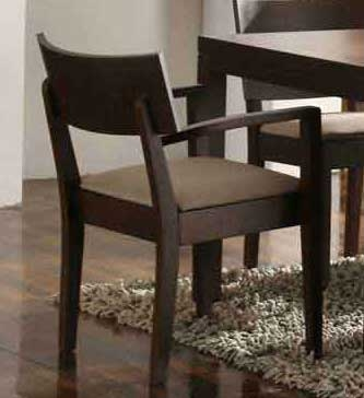 Tyrese Wenge Arm Chair