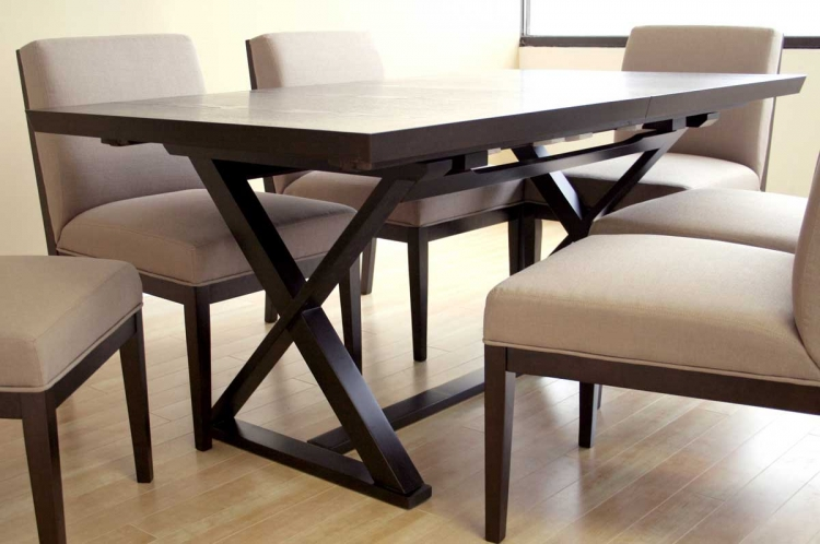 Verna Wenge Dining Table