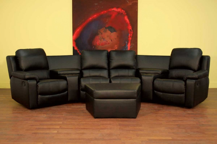8802 Home Theater Seat Curved Row