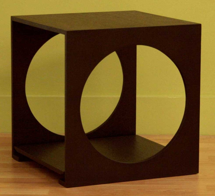 CT-002 Round Cut End Table