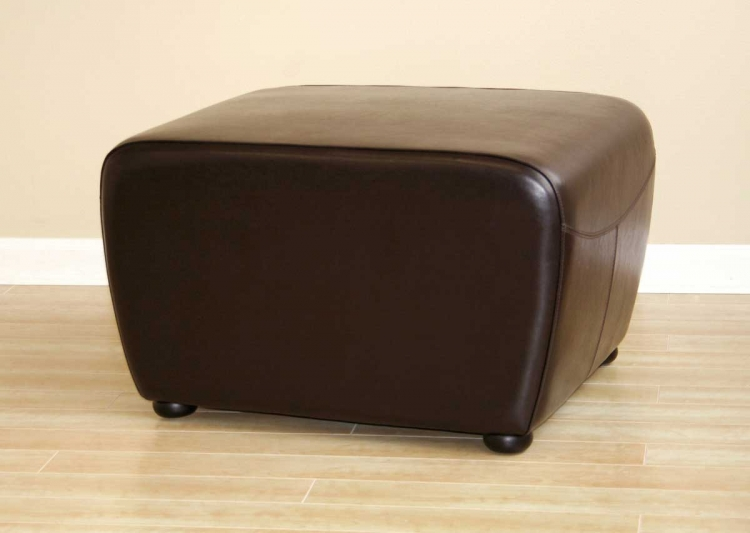 Y-051 Leather Ottoman - Wholesale Interiors