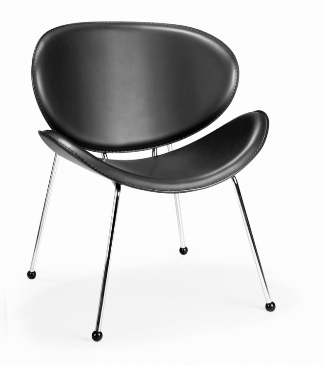 Match Chair - Black - Zuo Modern