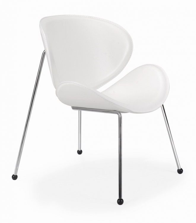 Match Chair - White - Zuo Modern