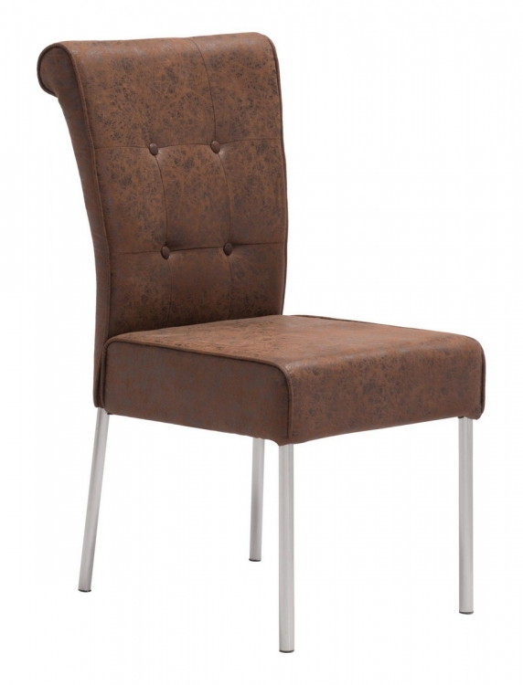 Ringo Dining Chair - Distressed Brown