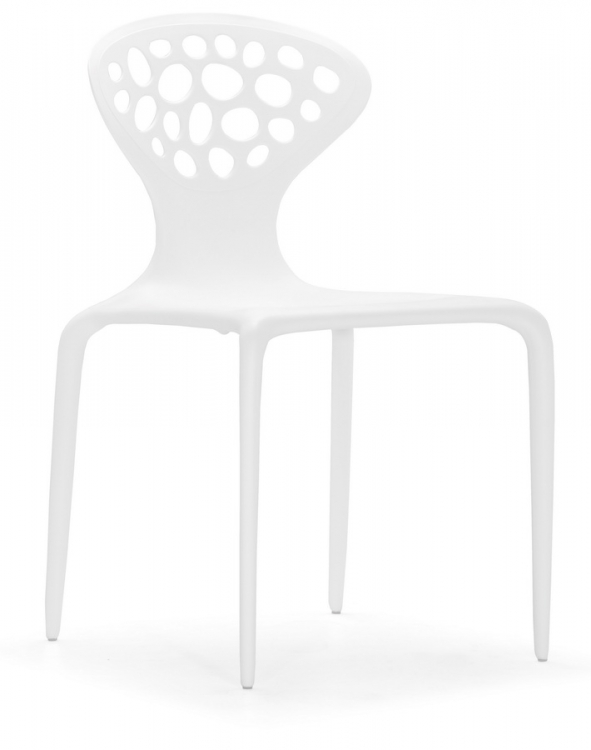 Marizpan Chair - White - Zuo Modern
