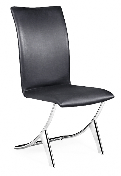 Delfin Dining Chair - Black - Zuo Modern