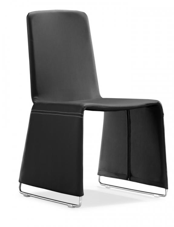 Nova Dining Chair - Black - Zuo Modern