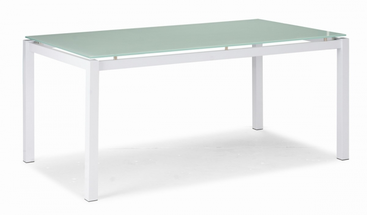 Liftoff Dining Table - White - Zuo Modern