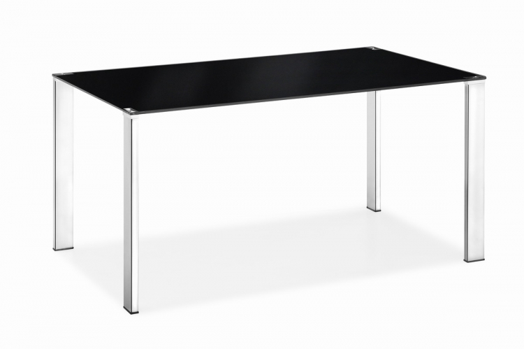Slim Dining Table - Black - Zuo Mod