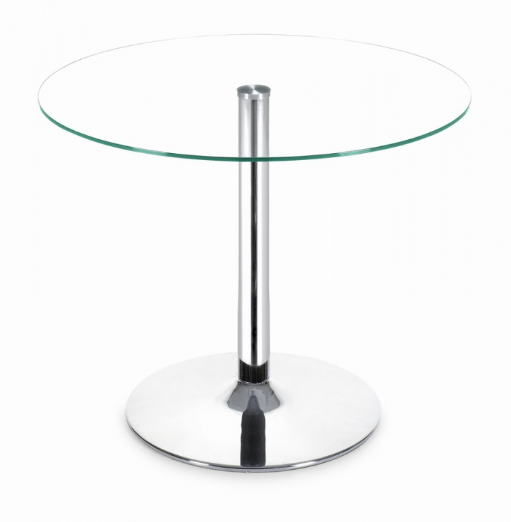 Galaxy Dining Table Clear - Zuo Modern
