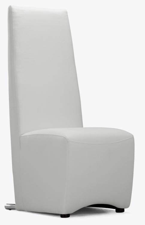 Allusion Dining Chair - White - Zuo Modern