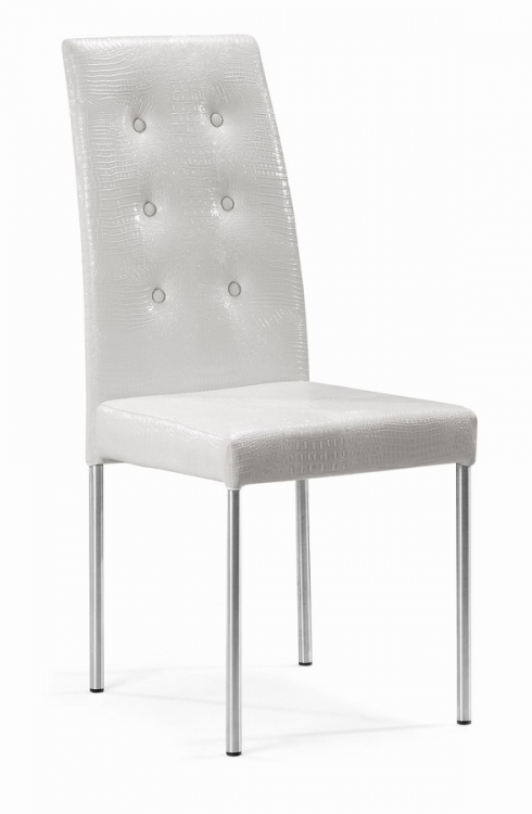 Tuft Dining Chair - White - Zuo Modern