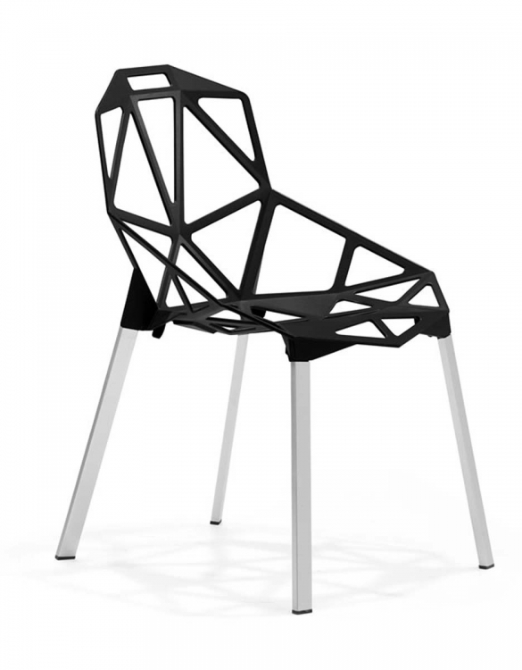 Obscure Dining Chair - Black - Zuo Modern