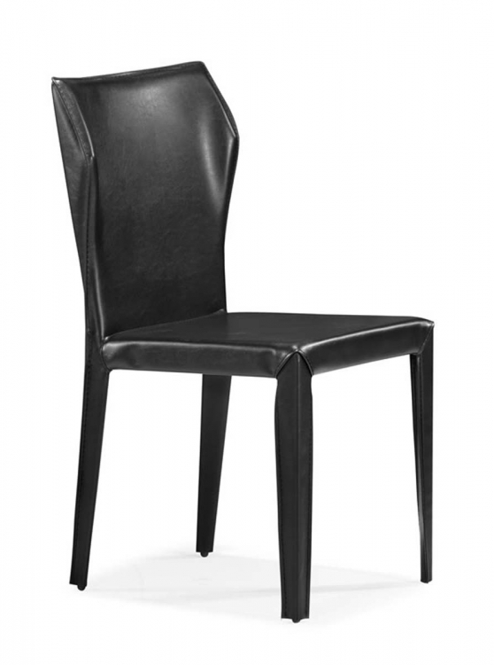 Eraser Dining Chair - Black - Zuo Modern