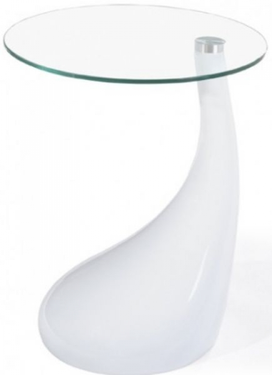 Jupiter Side Table - White - Zuo Modern