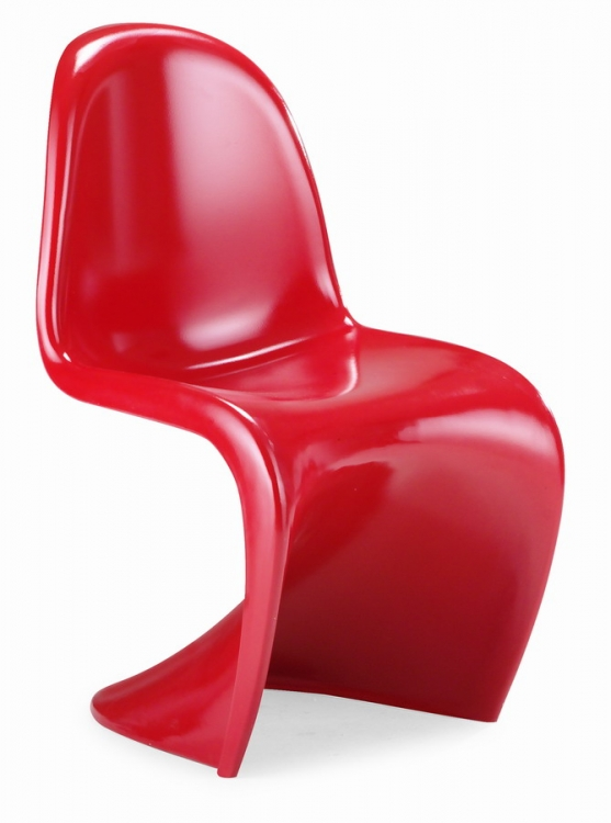 S Chair Dining Chair - Red