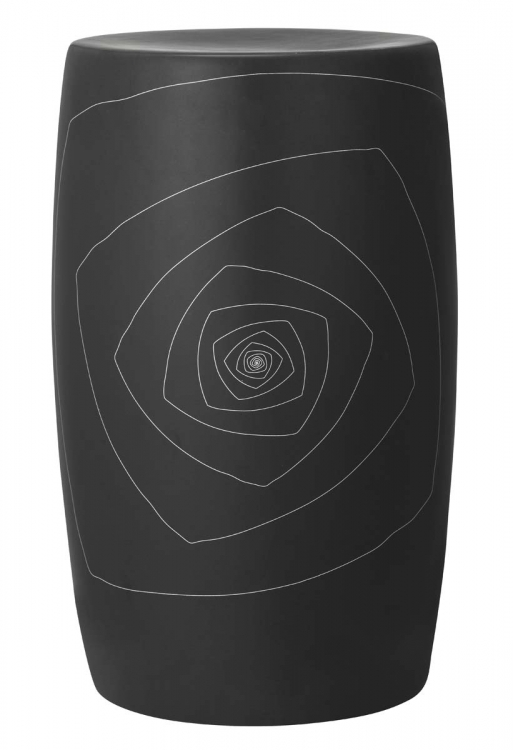 Bailey Sculpture L - Black - Zuo Modern