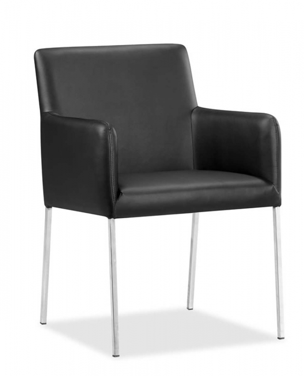 Vertigo Dining Chair - Black - Zuo Modern