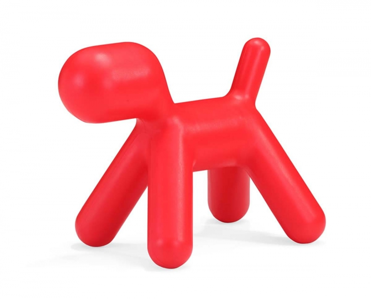 Pup Chair - Red - Zuo Modern