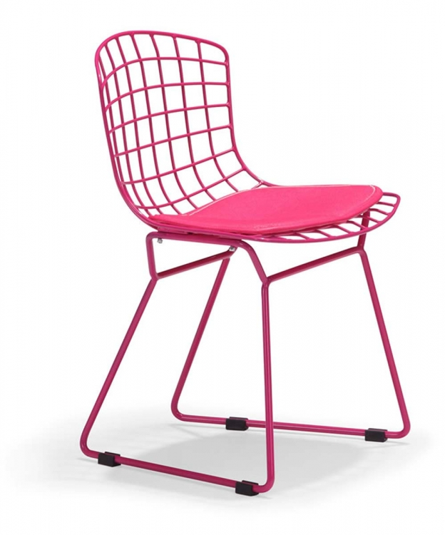 Baby Wire Chair - Pink - Zuo Modern