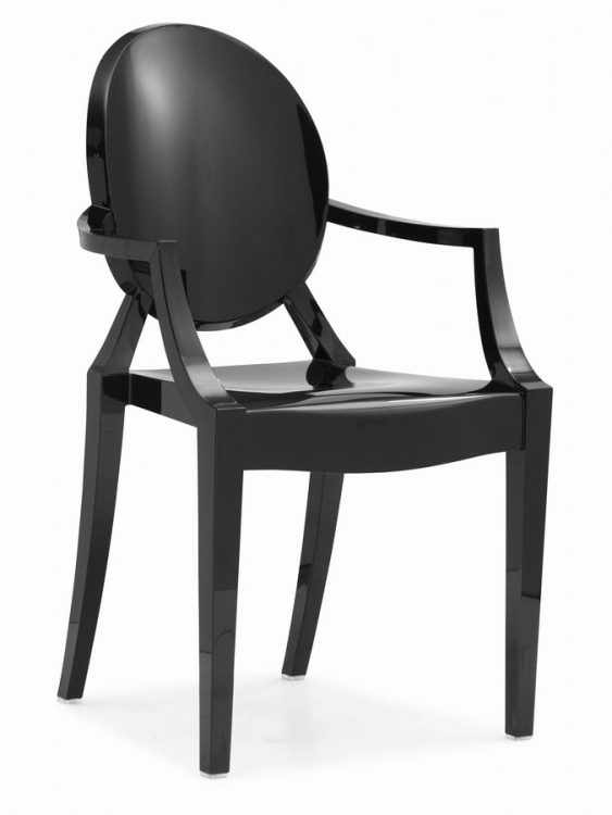 Anime Dining Chair - Black - Zuo Modern