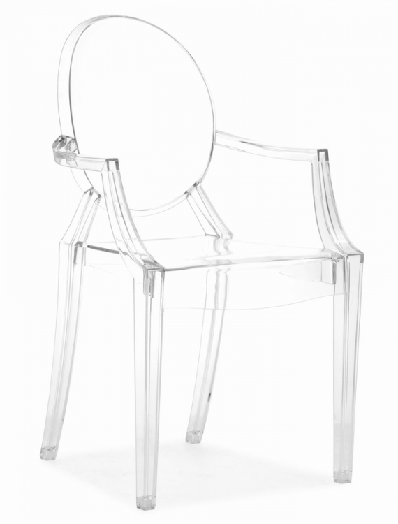 Anime Dining Chair - Transparent - Zuo Modern