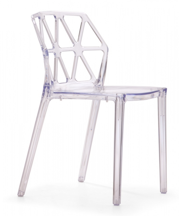 Juju Chair - Transparent - Zuo Modern