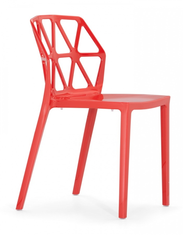 Juju Chair - Red - Zuo Modern