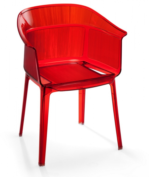 Allsorts Chair - Transparent Orange - Zuo Modern