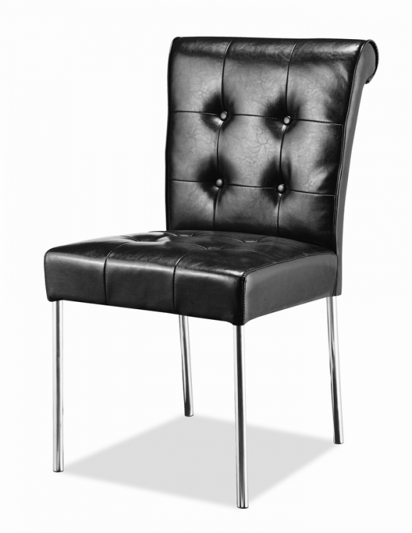 Fox Trot Dining Chair - Black - Zuo Modern