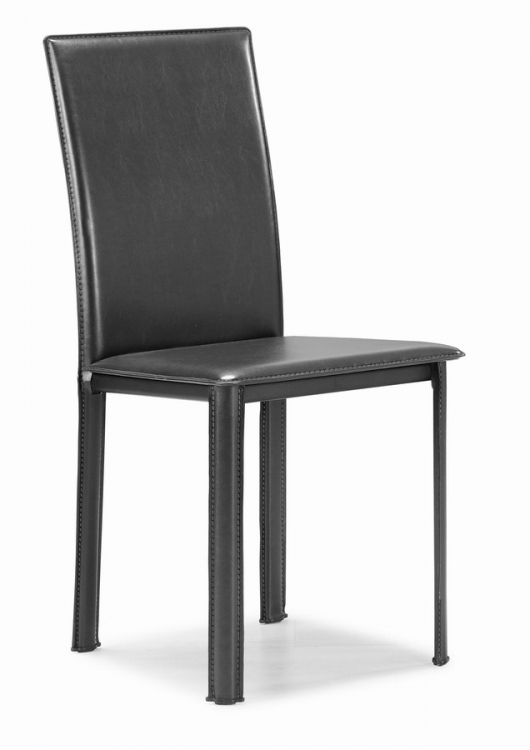 Arcane Dining Chair - Black - Zuo Modern