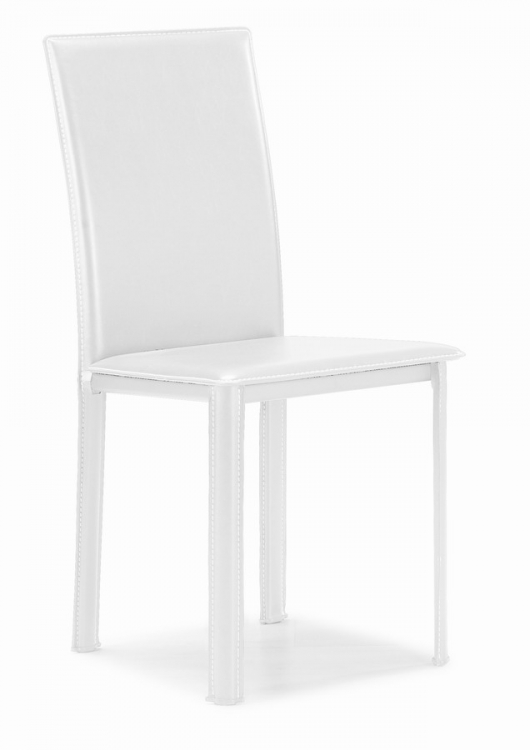 Arcane Dining Chair - White - Zuo Modern